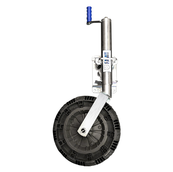 Pedestal 35.100 - Roda para Reboques, Trailers e Carretas - FAMIT