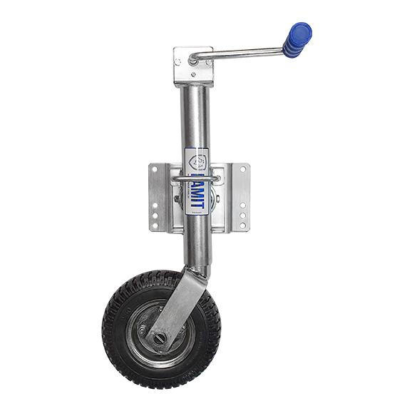 Pedestal 22.125 L - Roda, para Reboques, Carretinhas e Trailers - FAMIT